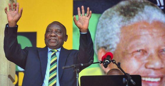 Un nouveau président en Afrique du sud