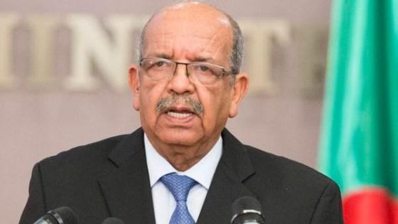 L'Algérie attachée au règlement pacifique