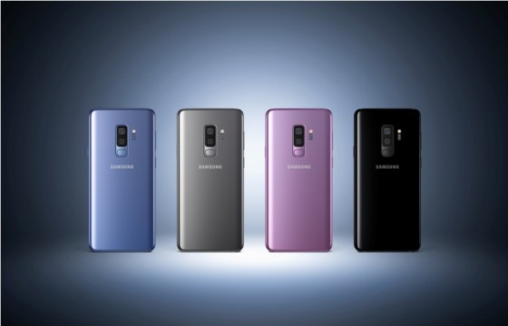 Samsung dévoile les Galaxy S9 et S9 +