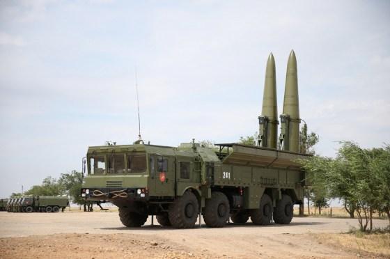 L'ANP se dote de missiles Iskander