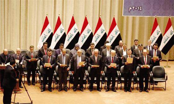 Irak : Le gouvernement au complet, un pas positif pour lutter contre Daech