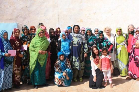 Les Sahraouies dans les camps de réfugiés:  Détermination et solidarité