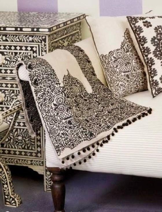 Médéa:Art de la broderie et décoration d'intérieur à l'honneur