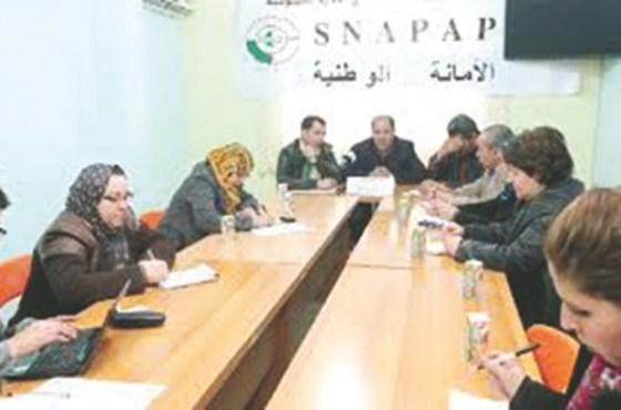 Des syndicalistes du Snapap rejoignent le Satef