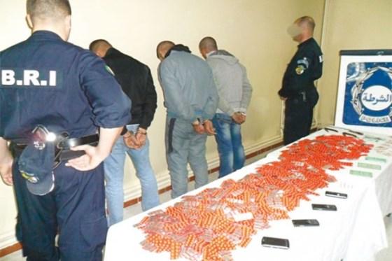 Arrestation de trois narcotrafiquants et saisie de 15 kg de kif traité