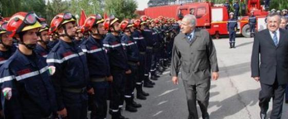 2 000 pompiers en renfort pour la wilaya de Médéa