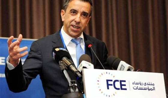Le président du FCE (Forum des chefs d'entreprises)