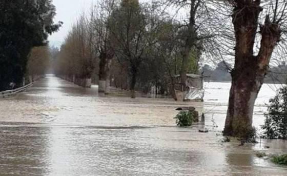Inondations et glissements de terrain à Béjaïa
