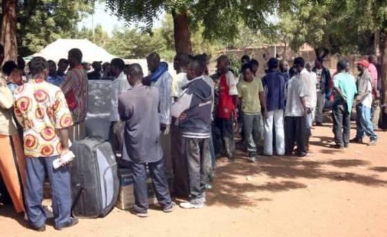 28 nigériens placés en transit à Annaba avant leur rapatriement