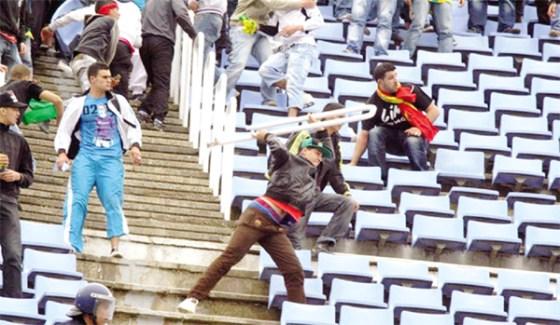 Blida : Violence dans les stades