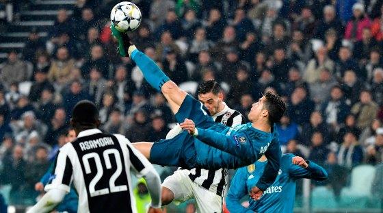 Ligue des champions d'Europe: Le Real écrase la Juve et un but d'anthologie de Ronalda