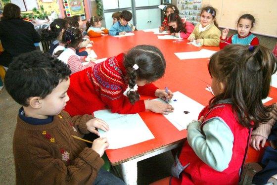 Première rencontre des jardins d'enfants