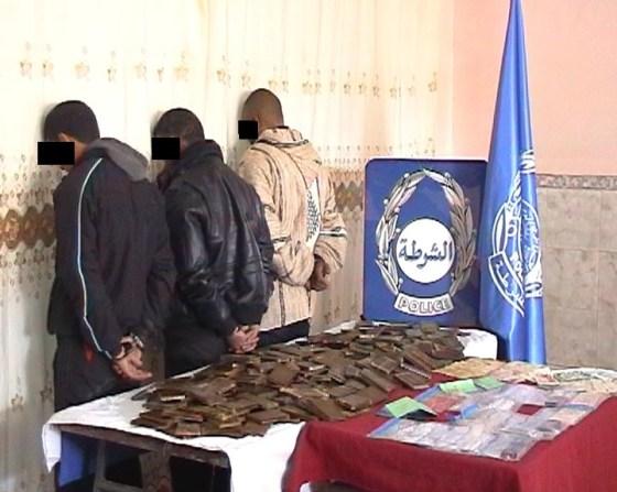 Un réseau de trafic de drogue démantelé à l'Ouest par la BMPJ