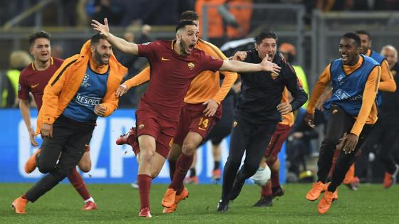 La surprenante remontada de la Roma devant le Barça
