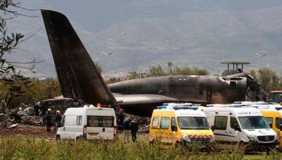 Algérie: 257 morts dans le crash d'un avion militaire