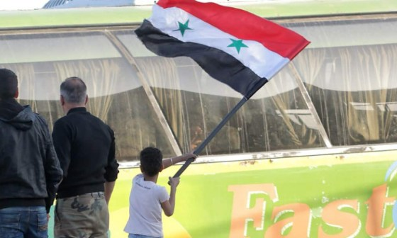 Douma reprise par l'armée syrienne