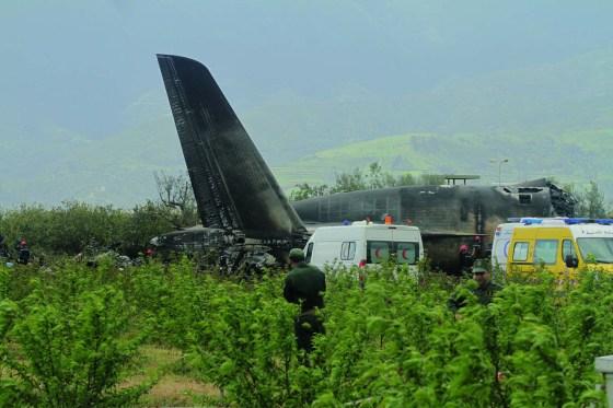 Crash de l'avion militaire à Boufarik:  13 familles éplorées à Médéa.