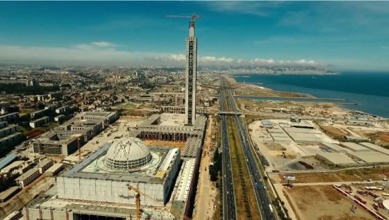 La Grande mosquée sera livrée à la fin de 2018