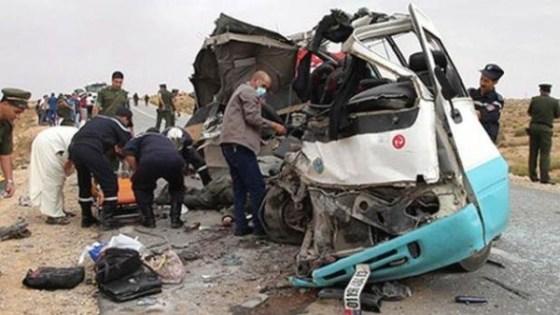 Deux morts et 36 blessés dans un accident d'un autocar à Constantine