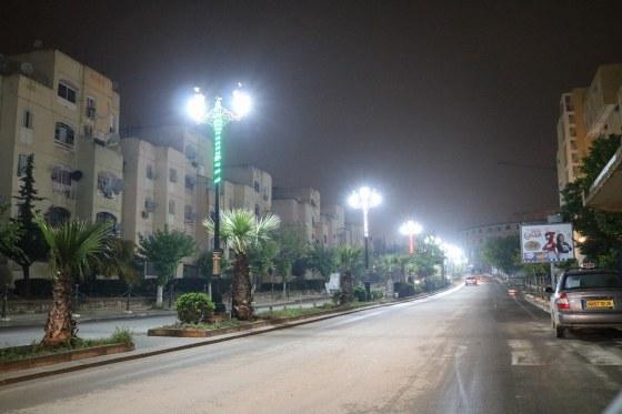 Médéa,  après le f'tour, la ville s'illumine