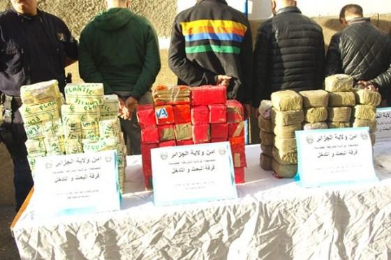 Dix kilos de drogue saisis aux premiers jours du ramadhan à Alge