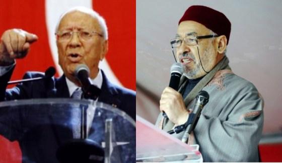 Duel au sommet entre Ennahda et Nida Tounès