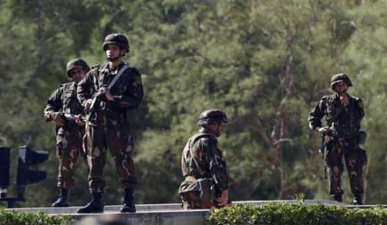 Deux caches contenant des produits explosifs détruites à Médéa