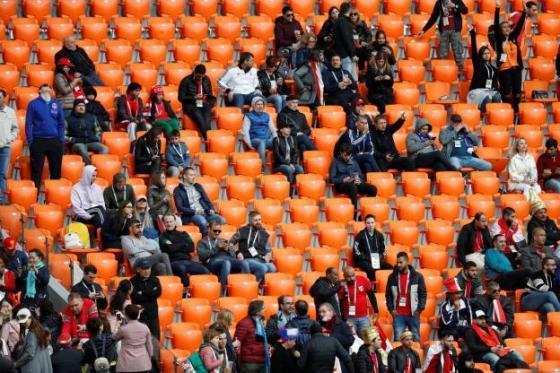 Tribune vide lors d'Egypte – Uruguay : la Fifa enquête