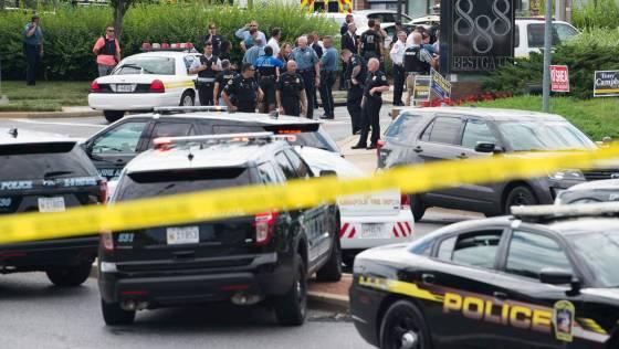 Cinq journalistes tués dans une fusillade aux Etats-Unis