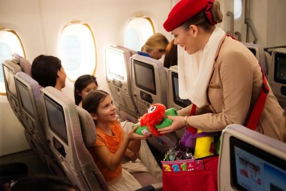 Vos enfants voyagent gratuitement avec Emirates