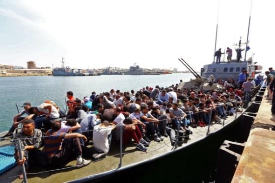 Un millier de migrants sauvés en 48 heures