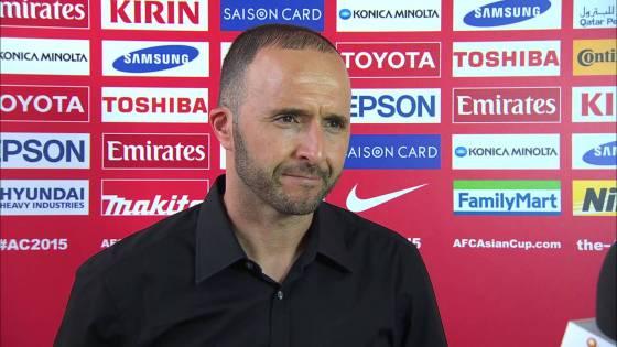 Djamel Belmadi nouveau coach des verts