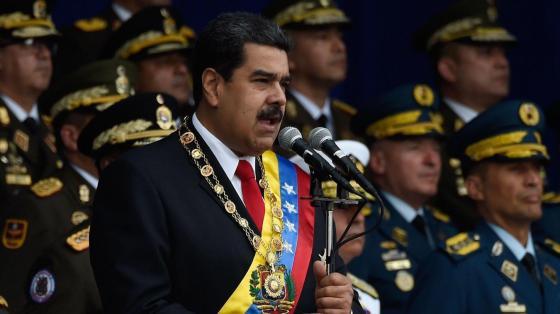 Le président Maduro cible d'un attentat