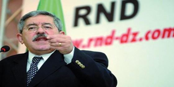 Un sénateur corrompu du RND exclu par Ouyahia