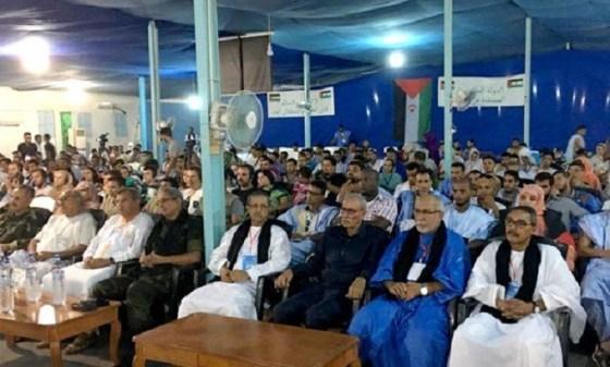 Congrès des étudiants sahraouis:Soutien à l'indépendance