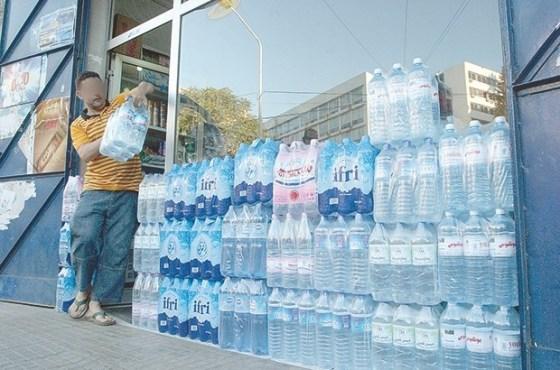 L'eau minérale est devenue une denrée rare en…