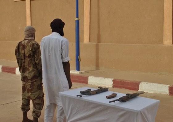 Reddition de deux terroristes à Tamanrasset
