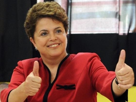 Vers la victoire de la présidente sortante Dilma Roussef