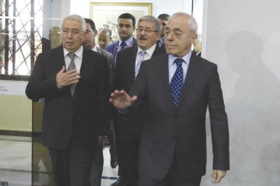 Bensalah et Bouhadja en duo pour le 5e mandat