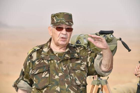 Gaïd Salah à Béchar pour superviser des exercices tactiques