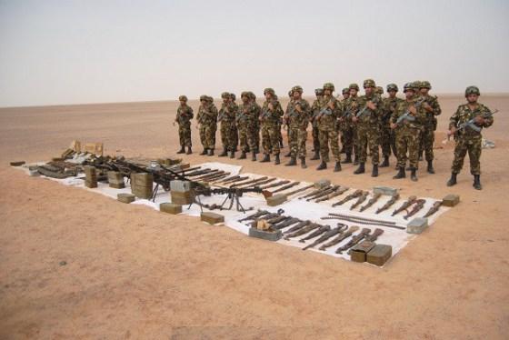 Découverte d'une importante quantité de munitions à in guezzam
