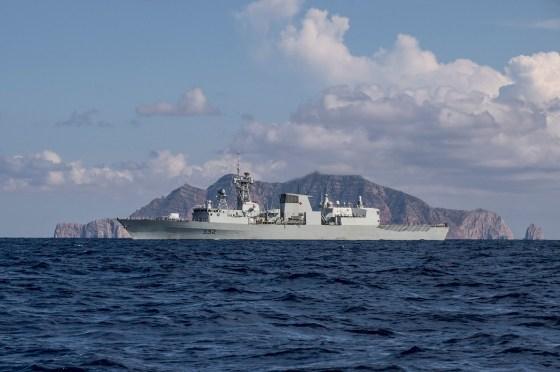 Des navires de l'Otan se rapprochent de la Syrie