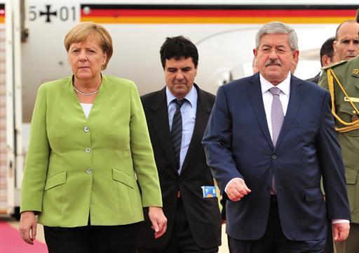 La chancelière allemande entame une visite officielle en Algérie