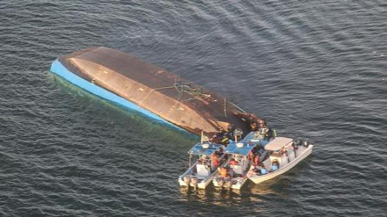 218 morts après le naufrage d'un ferry sur le lac Victoria
