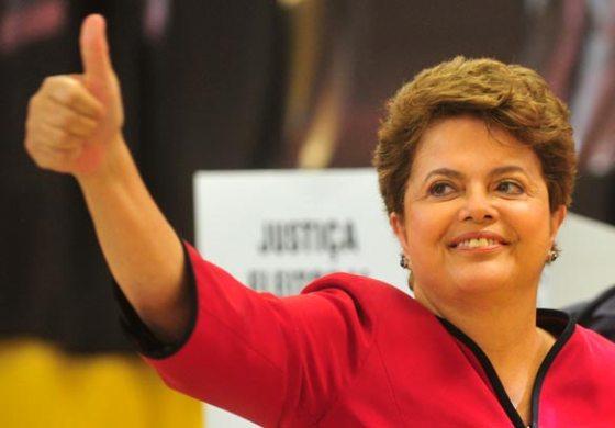 La présidente Rousseff réélue avec 51,6%