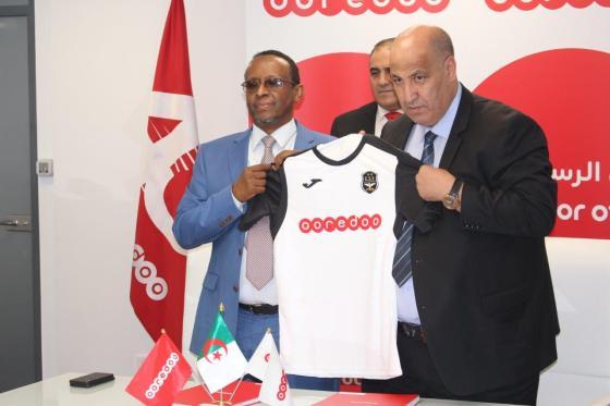 Ooredoo sponsor officiel de l'Entente de Sétif