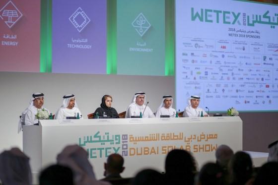 Dubai accueille le WETEX 2018 et le Dubaï Solar Show