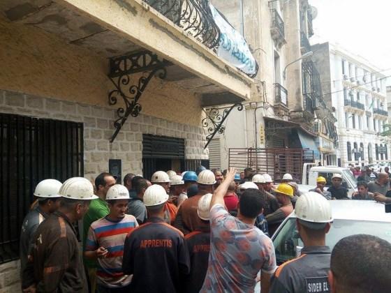 Les travailleurs de Sider El-Hadjar accusent :  « C'est le député Tliba qui est derrière ces machinations »