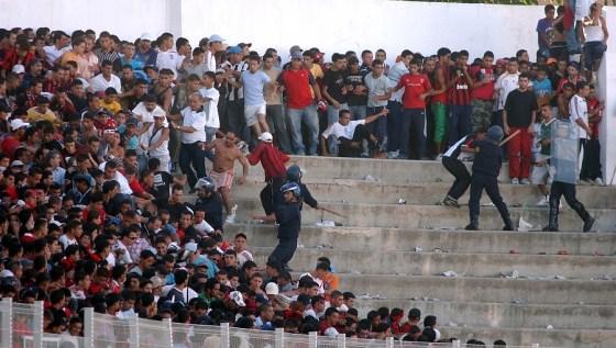 Violance dans les stades:D'importantes recommandations envoyées par la DGSN  à la FAF
