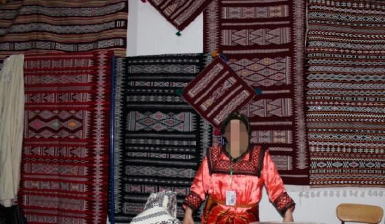 Clôture du festival du tapis d'Ath-Hichem à Tizi Ouzou
